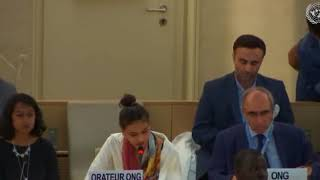 HRC 38th Session: Item 10 General Debate - Sheefa Shaik, 5 July 2018