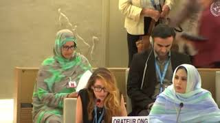 HRC 38th Session: Item 3 General Debate - Jennifer D. Tapia, 25 June 2018