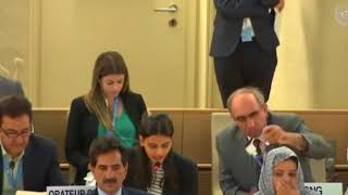 HRC38th Session: Item 3 - General Debate - Sheefa Shaik, 25 June 2018