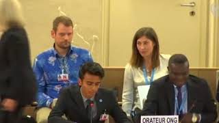 HRC 38th Session: Item 3 - ID with SR on Health - Siddharth Srikanth, 19 June 2018