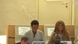 39th Session Human Rights Council - ID with Commission of human rights in South Sudan - Mutua K. Kobia