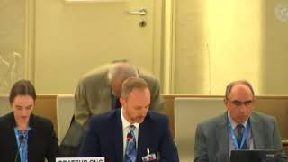 39th Session Human Rights Council - Item 3 ID with SR on Slavery - Christopher Gawronski
