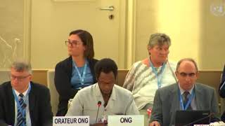 39th Session Human Rights Council - Item 3 ID with SR on Safe Drinking Water and Sanitation - Mutua K. Kobia