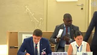 39th Session UN Human Rights Council - Item 10 on Technical Assistance in Yemen - Christopher Miller