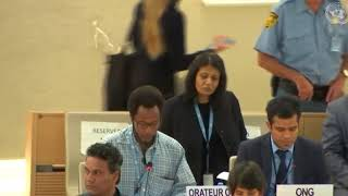 39th Session UN Human Rights Council - Item 10 on Technical Assistance in Yemen - Mutua K. Kobia