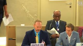 39th Session Human Rights Council - Item 2 General Debate - Christopher Gawronski
