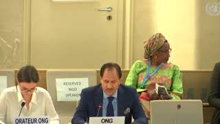 39th Session Human Rights Council - Item 4 General Debate on Iraq - Mr. Naji Haraj