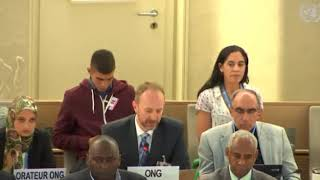 39th Session Human Rights Council - Item 7 GD on Human Rights Situation in Palestine - Christopher Gawronski