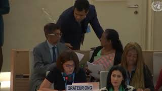 39th Session UN Human Rights Council - Item 8 GD on VDPA and Civil Society Space - Chiraz Khemakhem