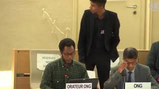 39th Session UN Human Rights Council - Item 9 GD on Racial Discrimination - Mutua K. Kobia