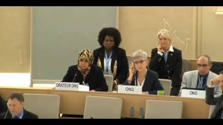 Ms Fatima Al Ani Statement at the General Segment - 8th Meeting, 34th Session - UN Human Rights Council