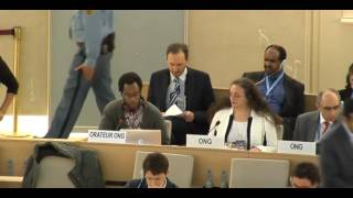 34th Session of the Human Rights Council - Climate Change and Child Rights - Mr Mutua Kobia - 2 March 2017