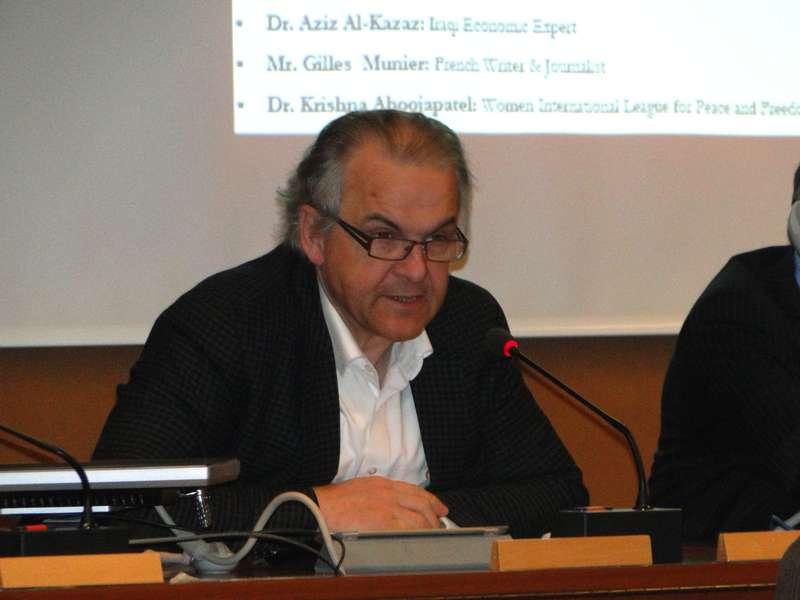 السيد ريمي باغاني، عمدة مدينة جنيف