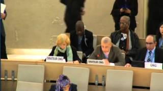 28th Regular Session of Human Rights Council - ID: OHCHR on ISIL - Mr Bassim Boutemine