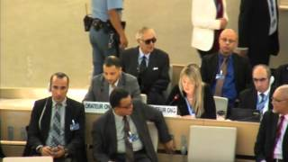 30th Session of the Human Rights Council - Item 7 - Ms Eleanor McClelland