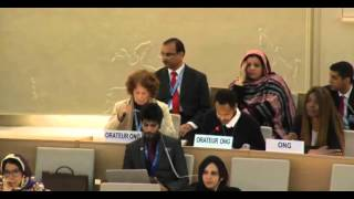 31st Session of the Human Rights Council - Item 2 - Mr Boris Blasberg