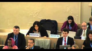31st Session of the Human Rights Council - Item 7 - Ms Lamia Fadla (English)