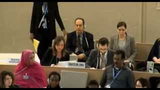 22nd Session of the UN Human Rights Council - item 2 - Ms Giorgina Piperone