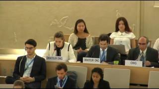 32nd session of the Human Rights Council - Item 9 - Ms Anne Béatrice de Gressot
