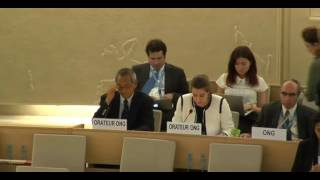 32nd session of the Human Rights Council - Item 8 - Ms Anne Béatrice de Gressot