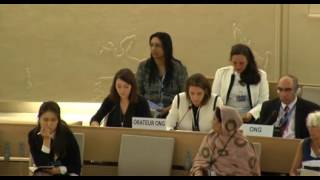 33rd session of the Human Rights Council - Item 3 - Ms Anne Béatrice de Gressot