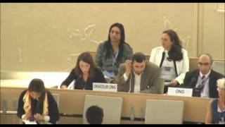 33rd session of the Human Rights Council - Item 3 - Ms Alessia Vedano