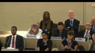 33rd session of the Human Rights Council - Item 3 - Ms Iman Abu Zueiter