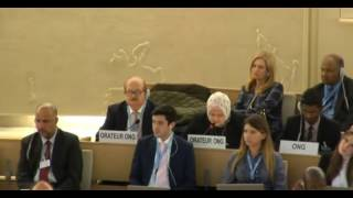 33rd session of the Human Rights Council - Item 7 - Ms Iman Abu Zueiter