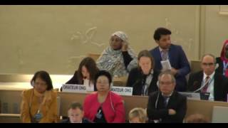 33rd session of the Human Rights Council - Item 10 - Ms Alessia Vedano