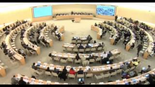 25th Special Session of the Human Rights Council - Ms Anne Béatrice de Gressot