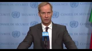 Security Council President Olof Skoog on the situation in Iraq - 4 January 2017
