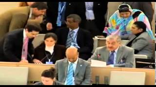 22nd Session of the UN Human Rights Council - item 4 - Mr Sabah Al-Mukhtar