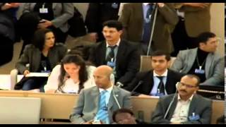 22nd Session of the UN Human Rights Council - item 4 - Ms Yanet Bahena