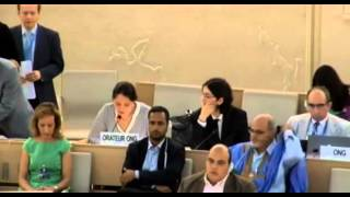 23 Session of the Human Rights Council - Item 4 - Ms Yanet Bahena