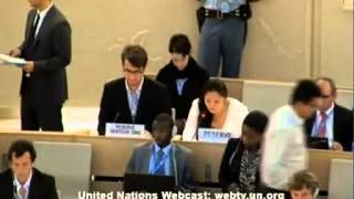 24rd Session of the UN Human Rights Council - item 2 Yanet Bahena