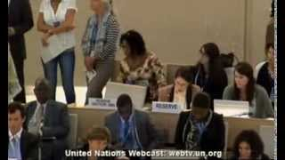 24 Session of the Human Rights Council - Item 3 Angela Bushati