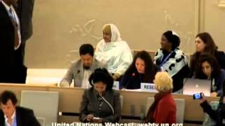 24 Session of the Human Rights Council - Item 4 - Ms Yanet Bahena