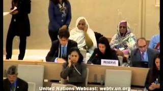 24 session - Human Rights Council - Item 4 - Ms. Dhifaf Christina Ati