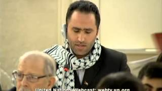 General Segment 11th Meeting, 25th Regular Session Human Rights Council, Issa Amro