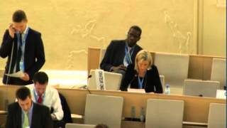 Closing statement 25th Regular Session of Human Rights Council