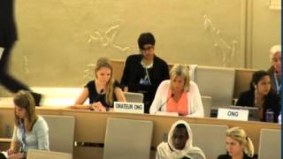 Panel discussion on Womens Rights in Sustainable Development, 17 June 2014, 26th regular session of