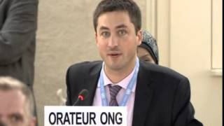 22nd Special Session of Human Rights Council, Human Rights Watch, Mr Philippe Dam