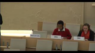 34th Session of the Human Rights Council - Panel Discussion on Racial Profiling - Mr Mutua Kobia - 17 March 2017