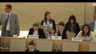 35th Session of the Human Rights Council - GD Item: 9 - Ms Lisa-Marlen Gronemeier 20 June 2017