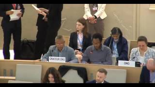 35th Session of the Human Rights Council - GD Item: 2 - Mr Mutua Kobia 7 June 2017