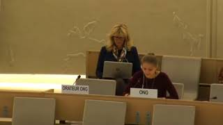36th Session of the Human Rights Council - ID on Human Rights in South Sudan - Ms. Lisa-Marlen Gronemeier