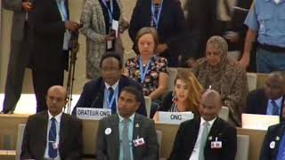 36th Session of the Human Rights Council - GD Item 10 - Ms. Jennifer D. Tapia 28 September 2017