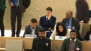 36th Session of the Human Rights Council - GD Item 3 (English) - Ms. Lamia Fadla 18 September 2017
