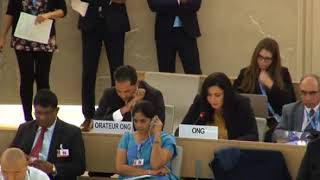 36th Session of the Human Rights Council - GD Item 8 - Ms. Lamia Fadla 26 September 2017