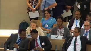 36th Session of the Human Rights Council - GD Item 9 - Ms. Lisa-Marlen Gronemeier 26 September 2017